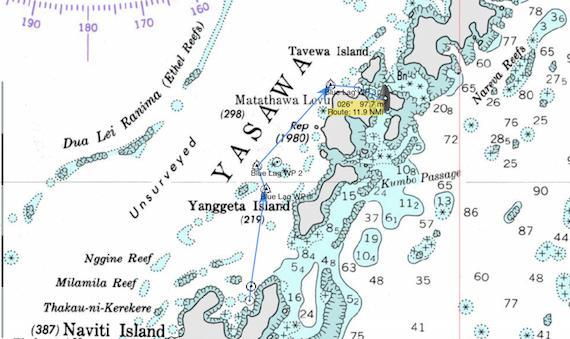 Blue Lagoon Nav Pic